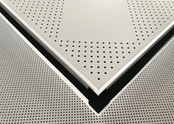 Aluminium Powder Coated Perforated Metal Ceiling Panel 600 X 600 X 0.6mm