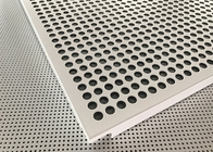 Akzo Nobel Powder Dilapisi Matt White Finished Aluminium Suspended Ceiling Tiles