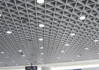 Interior Ornament Triangle aluminum Metal Grid Ceiling suspended GB / T28001-2011