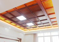 New Aluminum Clip in Artistic Ceiling Tiles with Special Uneven Modern Effect