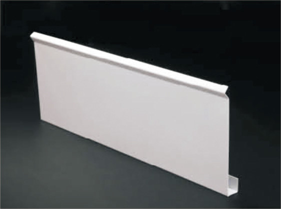 False Decorative Metal Suspended Ceiling , G-shaped Blade Linear Ceiling Tiles