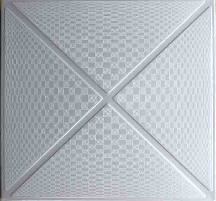 Moisture Proof Artistic Ceiling Tiles Aluminum For Kitchen Or Washroom